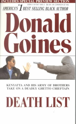 Death List By Goines, Donald